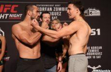 Видео боя Дэйви Рамос — Джон Гунтер UFC Fight Night 139