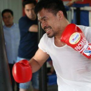 Мэнни Пакьяо начал подготовку к бою против Эдриена Бронера