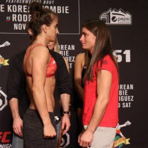 Видео боя Мэйси Барбер — Ханна Сайферс UFC Fight Night 139