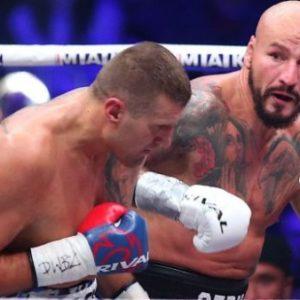 Артур Шпилька раздельным решением победил Мариуша Ваха и затеял драку в ринг-сайде