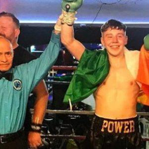 17-летний ирландский боксёр завоевал уже вторую победу на профессиональном ринге