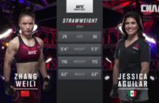 Видео боя Вейли Жан — Джессика Агилар UFC Fight Night 141