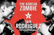Результаты турнира UFC fight Night 139
