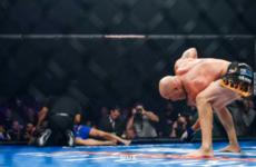 Тито Ортис брутально нокаутировал Чака Лидделла на турнире Golden Boy MMA