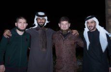 Хабиб Нурмагомедов поприсутствовал на турнире WFCA в Бахрейне