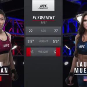 Видео боя Ву Янан — Лорен Мюллер UFC Fight Night 141