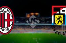 Прямая трансляция Милан — Дюделанж. Футбол. Лига Европы. 29.11.18