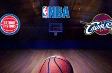 Прямая трансляция Детройт Пистонс — Кливленд Кавальерс. Баскетбол. NBA.