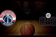 Прямая трансляция Вашингтон Визардс — Лос-Анджелес Клипперс. Баскетбол. NBA. 21.11.18