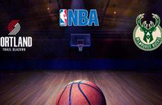 Прямая трансляция Портленд Трейл Блейзерс — Милуоки Бакс. Баскетбол. NBA. 07.11.18