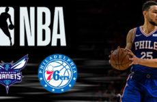 Видео. Филадельфия дожала Шарлот Хорнетс. NBA. 10.11.18