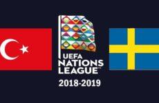 Прямая трансляция Турция — Швеция. Футбол. Лига Наций. 17.11.18