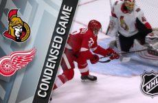 Прямая трансляция Детройт Ред Уингз — Оттава Сенаторс. Хоккей. NHL. 15.12.18