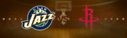 Прямая трансляция Юта Джаз - Хьюстон Рокетс. Баскетбол. NBA. 07.12.18