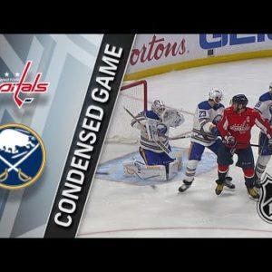 Прямая трансляция Вашингтон Кэпиталз - Баффало Сайбрз. Хоккей. NHL. 16.12.18