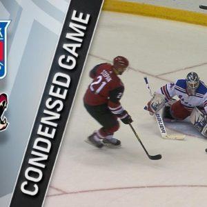 Прямая трансляция Нью-Йорк Рейнджерс — Аризона Койотс. Хоккей. NHL. 15.12.18
