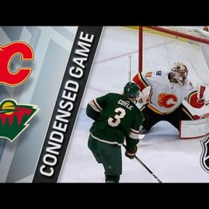 Прямая трансляция Миннесота Уайлд — Калгари Флеймз. Хоккей. NHL. 15.12.18