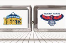 Прямая трансляция Атланта Хоукс — Денвер Наггетс. NBA. 07.01.20