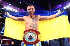 Василий Ломаченко рассказал, о своем физическом состоянии после травмы плеча