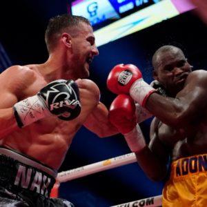 Рефери, который обслуживал бой Гвоздик - Стивенсон прокомментировал свои действия на ринге