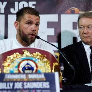 Фрэнк Уоррен ожидает, что Билли Джо Сондерс скоро вернется на ринг