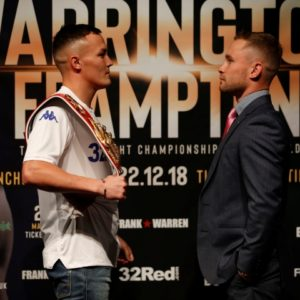 Уоррингтон о бое с Фрэмптоном: «Забавно быть чемпионом мира и выходить на ринг в роли аутсайдера»