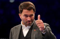 Хирн заявляет, что переговоры по организации поединка Уайлдер – Джошуа возобновлятся до конца недели