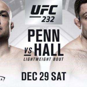 Видео боя Райан Холл — Би Джей Пенн UFC 232