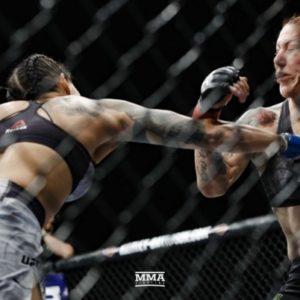 Видео боя Аманда Нуньес - Крис Сайборг UFC 232