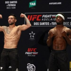 Видео боя Суман Моктариан — Содик Юсуфф UFC Fight Night 142