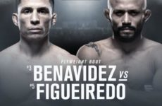 Джозеф Бенавидес — Дейвисон Фигейреду на турнире UFC 233 в Анахайме