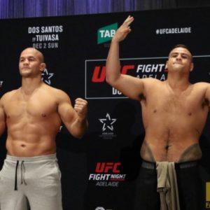 Видео боя Джуниор Дос Сантос - Тай Туиваса UFC Fight Night 142