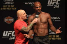 Взвешивание участников турнира UFC 232: Джонс-Густафссон 2