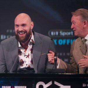 Фрэнк Уоррен: «Победа Фьюри над Уайлдером затмит успех в бою с Кличко»