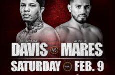 Джервонта Дэвис сразится с Абнером Маресом 9-го февраля в Калифорнии