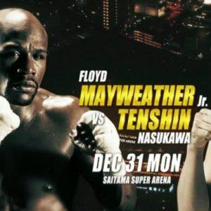 Флойд Мейвезер заявил, что заработает 9 млн долларов за выставочный бой с Теншином Насукавой