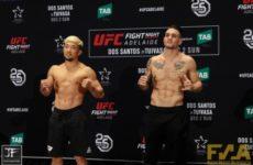 Видео боя Мизуто Хирота — Кристос Гиагос UFC Fight Night 142