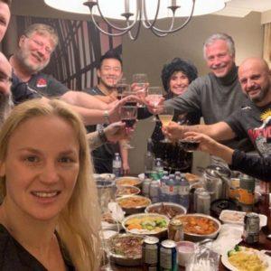 Валентина Шевченко позволила себе расслабиться после завоевания титула UFC