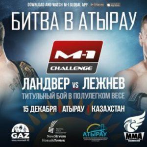 Файткард турнира M-1 Challenge: Битва в Атырау