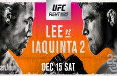 Файткард турнира UFC on FOX 31: Кевин Ли — Эл Яквинта 2