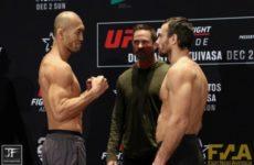 Видео боя Алексей Кунченко — Юшин Оками UFC Fight Night 142