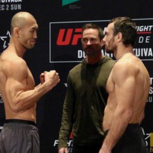 Видео боя Алексей Кунченко - Юшин Оками UFC Fight Night 142