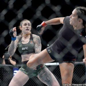 Видео боя Кэт Зингано - Меган Андерсон UFC 232