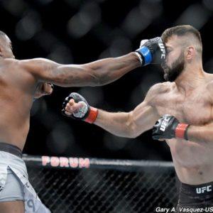 Видео боя Андрей Орловский — Уолт Харрис UFC 232
