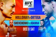 Файткард турнира UFC 231: Макс Холлоуэй — Брайан Ортега