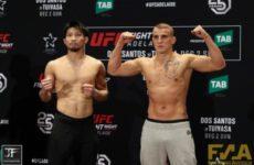 Видео боя Кейта Накамура — Салим Туари UFC Fight Night 142