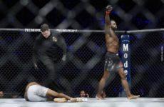 Видео боя Юрайя Холл — Бивон Льюис UFC 232