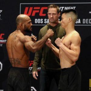 Видео боя Уилсон Рейс - Бен Нгуен UFC Fight Night 142