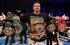 Александр Усик — лучший боксёр года по версии ESPN