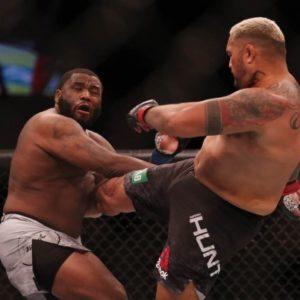 Результаты турнира UFC Fight Night 142: Джуниор Дос Сантос - Тай Туиваса